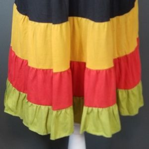Derek Heart Dresses   Plus Size Black Rasta Dress   Poshmark